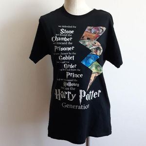 Harry Potter Graphic Tee Custom